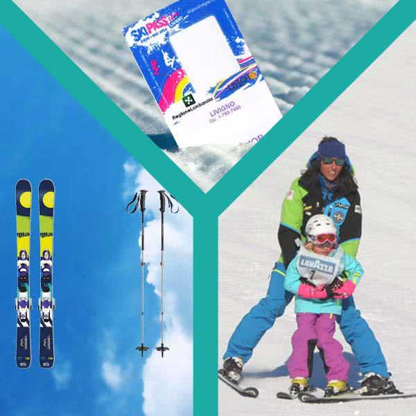 livigno services noleggio kids skipass lezioni sci