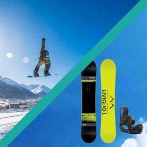 livigno services prodotto pacchetto noleggio snowboard standard lezioni
