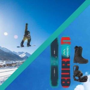 livigno services prodotto pacchetto noleggio snowboard superior lezioni