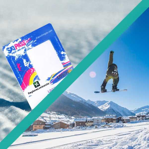 livigno services prodotto pacchetto skipass e snowboard